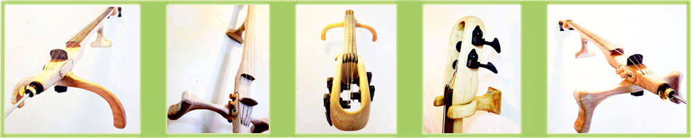 Natrial Cello Banner with Green outline
